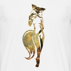 sexy fox in nature T-Shirts - Men's T-Shirt
