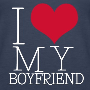 i love my boy Tops - Women's Premium Tank Top