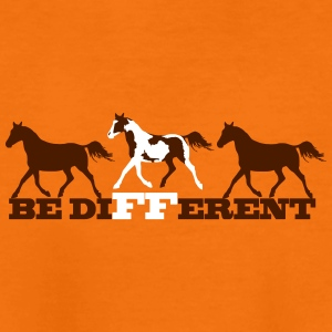Paint Horse - Be different T-shirts - Børne premium T-shirt