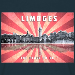 Limoges The-place-to-be Vue de la ville Tee shirts - T-shirt Homme