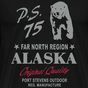 Alaska - Polar Bear T-Shirts - Men's Premium T-Shirt