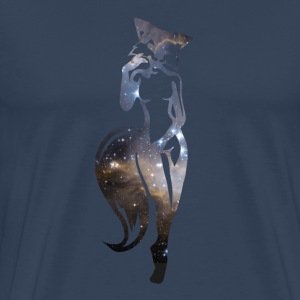 sexy fox in space T-Shirts - Men's Premium T-Shirt