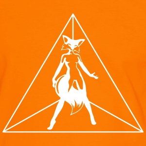sexy fox in triangle T-Shirts - Men's Ringer Shirt
