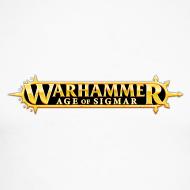 Motiv ~ Warhammer Age of Sigmar Logo - Long Sleeve Baseball Shirt