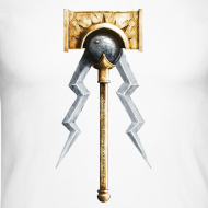 Motiv ~ Warhammer Age of Sigmar Hammer & Lightning 1  - Long Sleeve Baseball Shirt