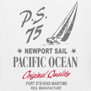 Newport Sail - Sailing Boat Tank Tops - Men's Premium Tank Top