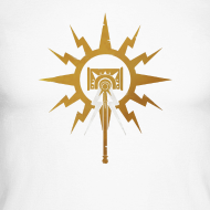 Motiv ~ Warhammer Age of Sigmar Hammer Icon - Long Sleeve Baseball Shirt