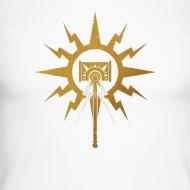 Motiv ~ Warhammer Age of Sigmar Hammer Icon - Long Sleeve Baseball Shirt
