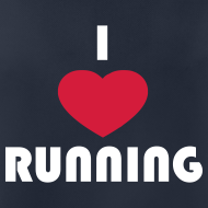 Motiv ~ T-Shirt: I love running