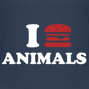 I LOVE ANIMALS Skjorter - Premium T-skjorte for barn