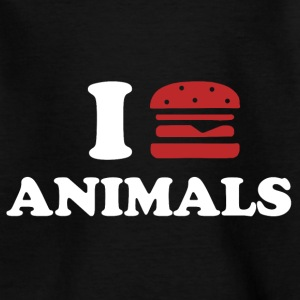 I LOVE ANIMALS Shirts - Teenager T-shirt