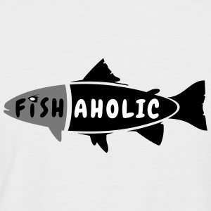 T-Shirt fishaholic - Männer Baseball-T-Shirt