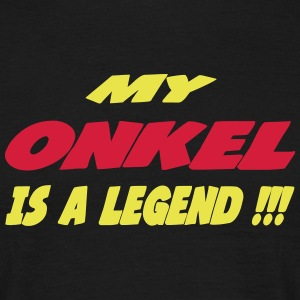 My onkel is a legend 222 T-shirts - Herre-T-shirt