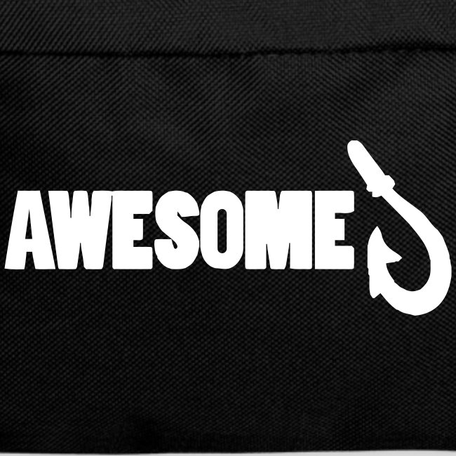 Backpack featuring Awesome Logo