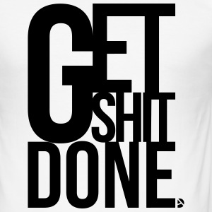 AD GetShitDone T-shirts - Herre Slim Fit T-Shirt