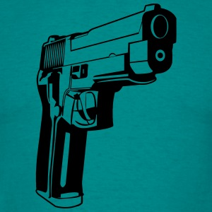 Weapons shoot gun violence T-Shirts - Men's T-Shirt