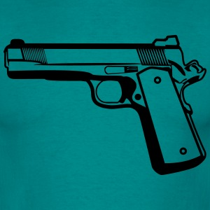 Shoot gun weapons T-Shirts - Men's T-Shirt