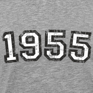 Year 1955 Birthday Vintage White (EU) T-Shirts - Men's Premium T-Shirt