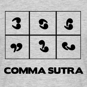 COMMA SUTRA T-shirts - T-shirt herr