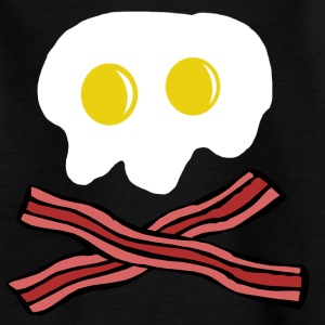 Eggs and Bacon skull Shirts - Kids' T-Shirt