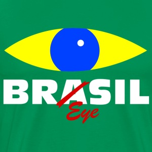 Brazil eye T-Shirts - Men's Premium T-Shirt
