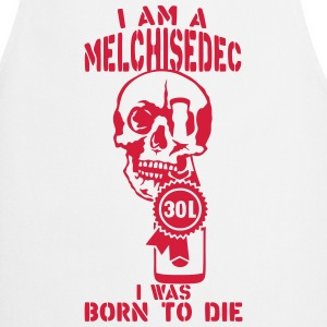 Melchisedech 30 liters bottle born die  Aprons - Cooking Apron