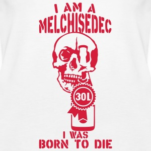 Melchisedech 30 liters bottle born die Tops - Women's Premium Tank Top