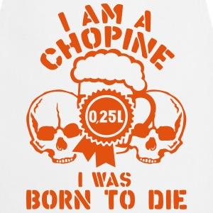 Chopine 0 25 liters biere born die  Aprons - Cooking Apron