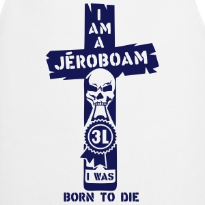 Jeroboam 3 liters bottle born die  Aprons - Cooking Apron