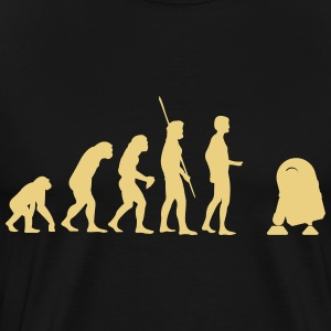 Evolution robot R2D2 T-Shirts - Men's Premium T-Shirt