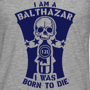 Balthazar 12 liters bottle born die Long sleeve shirts - Men's Premium Longsleeve Shirt