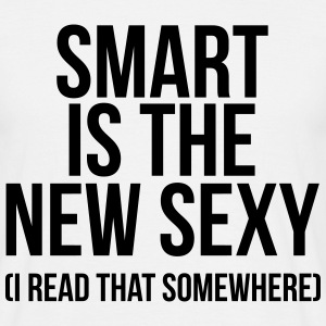 Smart is the new sexy T-shirts - Mannen T-shirt