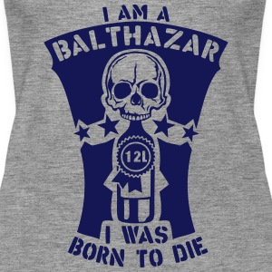 Balthazar 12 liters bottle born die Tops - Women's Premium Tank Top