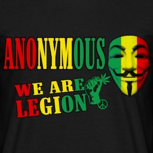 anonymouswe are legion Tee shirts - T-shirt Homme