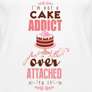 I'm over attatched to cake Tops - Frauen Premium Tank Top