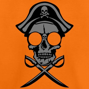 Death head skull pirate saber Shirts - Teenage Premium T-Shirt
