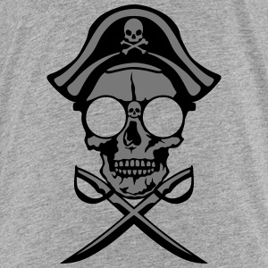 Death head skull pirate saber Shirts - Kids' Premium T-Shirt