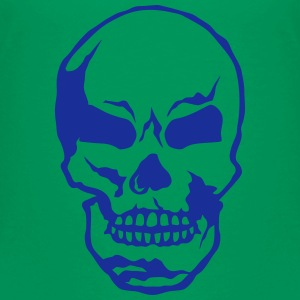 Death head skull 250620 Shirts - Kids' Premium T-Shirt