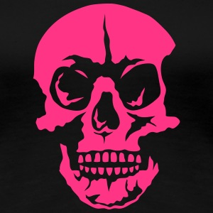 Death head skull 25066 T-Shirts - Women's Premium T-Shirt