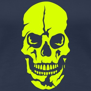 Death head skull 25064 T-Shirts - Women's Premium T-Shirt