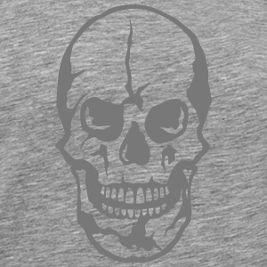Death head skull 25063 T-Shirts - Men's Premium T-Shirt