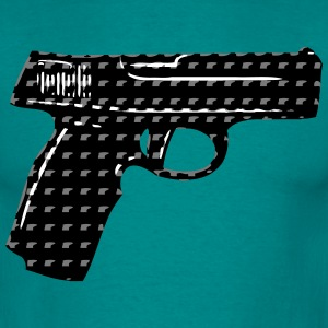 Weapons gun pattern T-Shirts - Men's T-Shirt