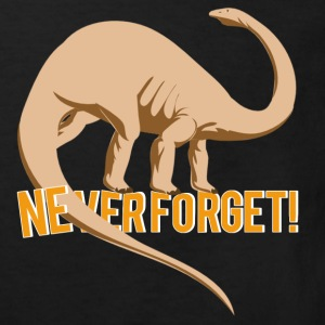 NEVER FORGET T-shirts - Organic børne shirt
