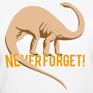NEVER FORGET T-shirts - Ekologisk T-shirt dam