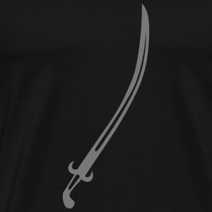 epee sabre 2406 Tee shirts - T-shirt Premium Homme