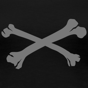 Cross bones 24 T-Shirts - Women's Premium T-Shirt