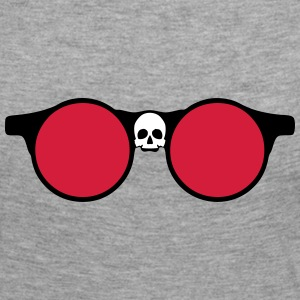 Sunglasses skull dead head shape 24064 Long Sleeve Shirts - Women's Premium Longsleeve Shirt