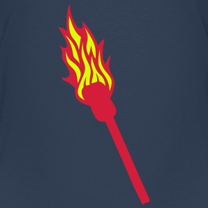 flame torch fire 0 Shirts - Kids' Premium T-Shirt
