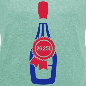 Sovereign 26 25 liters bottle size T-Shirts - Women's T-shirt with rolled up sleeves