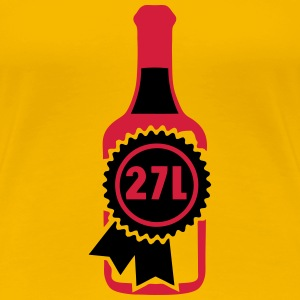 Primat 27 liters bottle size T-Shirts - Women's Premium T-Shirt